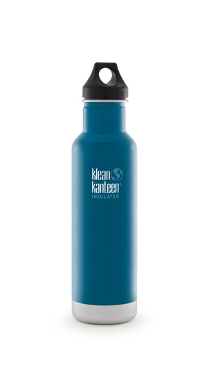 Klean Kanteen Classic Insulated Trinkflasche mit Loop Cap 592ml winter lake